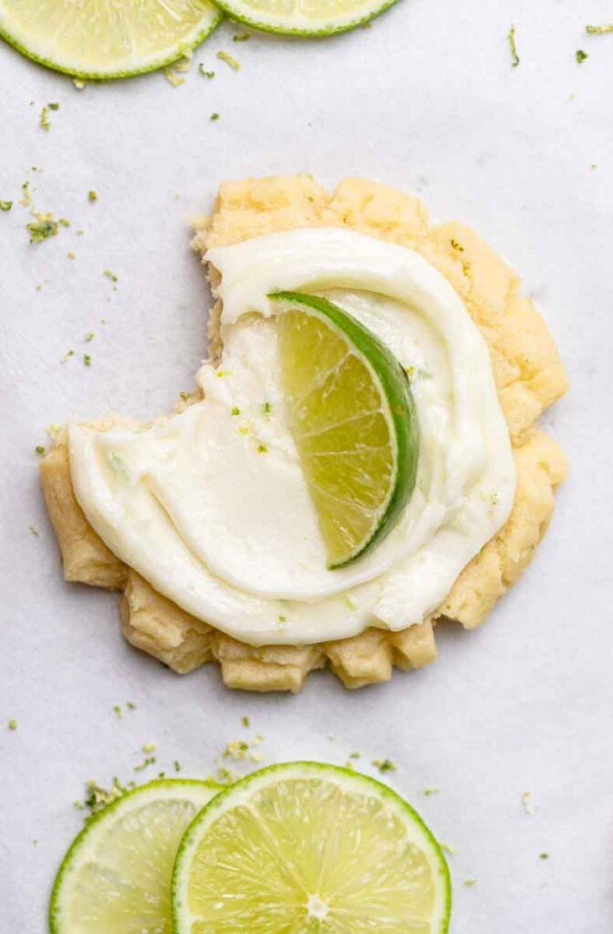 CRUMBL coconut lime cookies