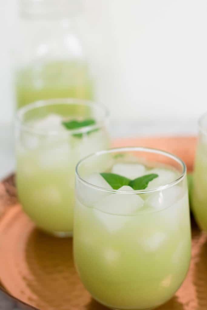 Grape cucumber refresher