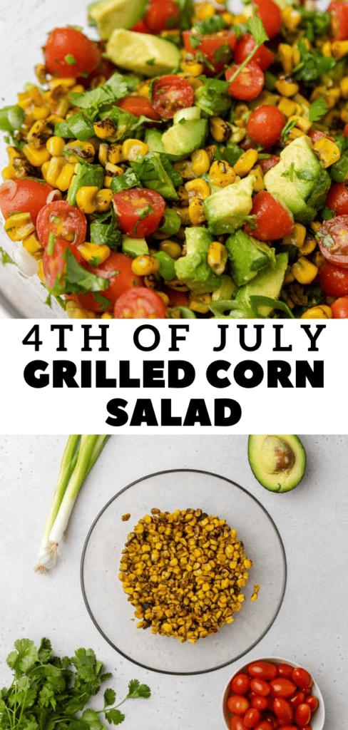 Healthy corn salad recipe