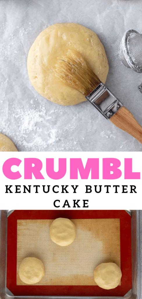 CRUMBL Kentucky Butter Cake Cookies