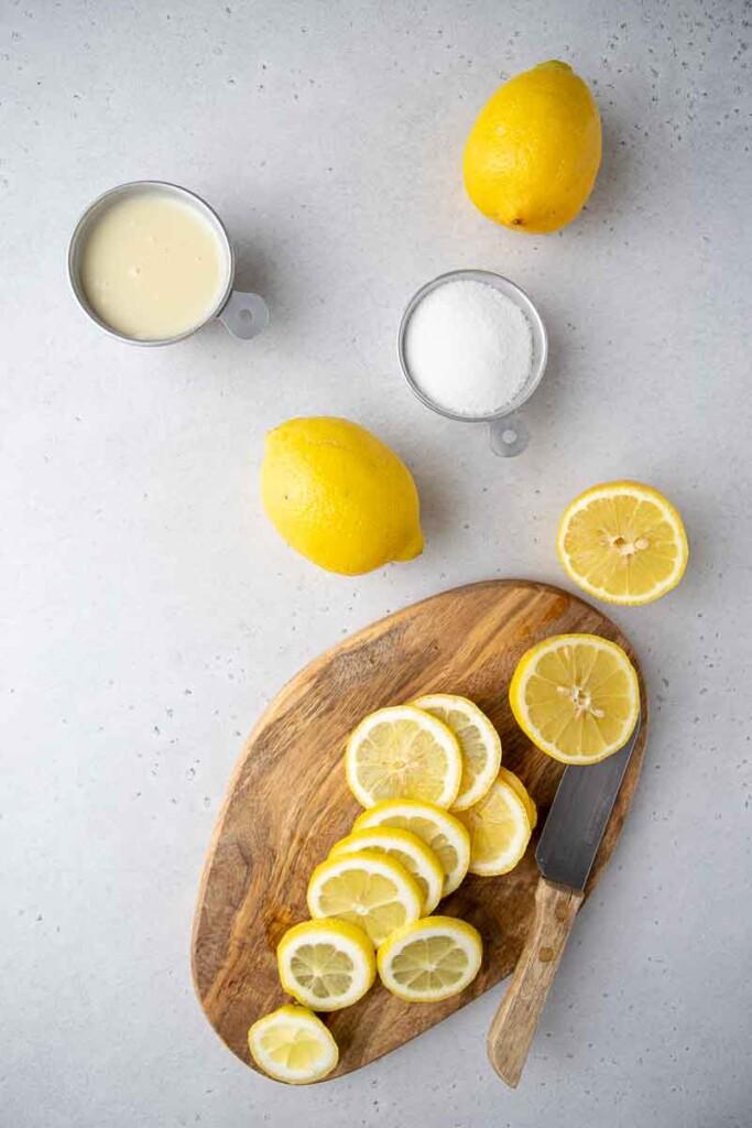 Tiktok Creamy lemonade ingredients