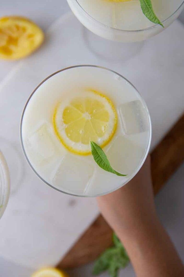 Creamy lemonade recipe