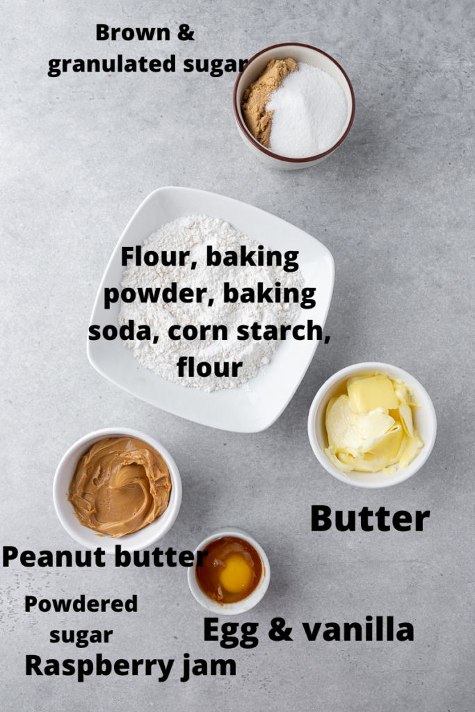 CRUMBL peanut butter and jelly cookie ingredients