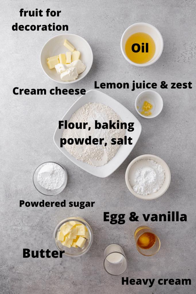 Crumbl fruit pizza cookie ingredients
