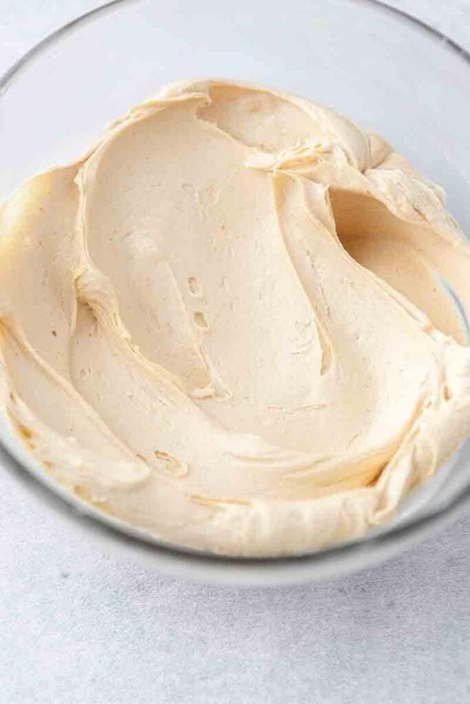smooth peanut butter buttercream