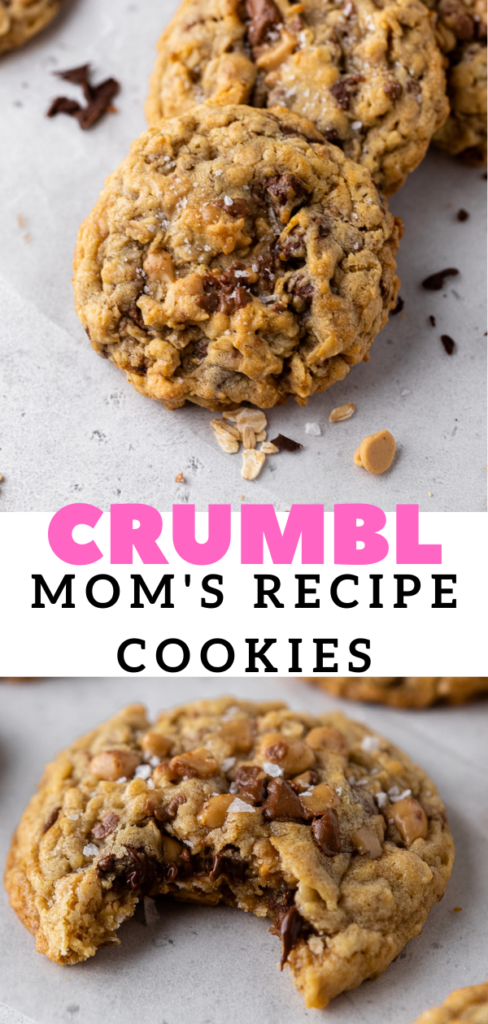 Easy oatmeal peanut butter chip cookies