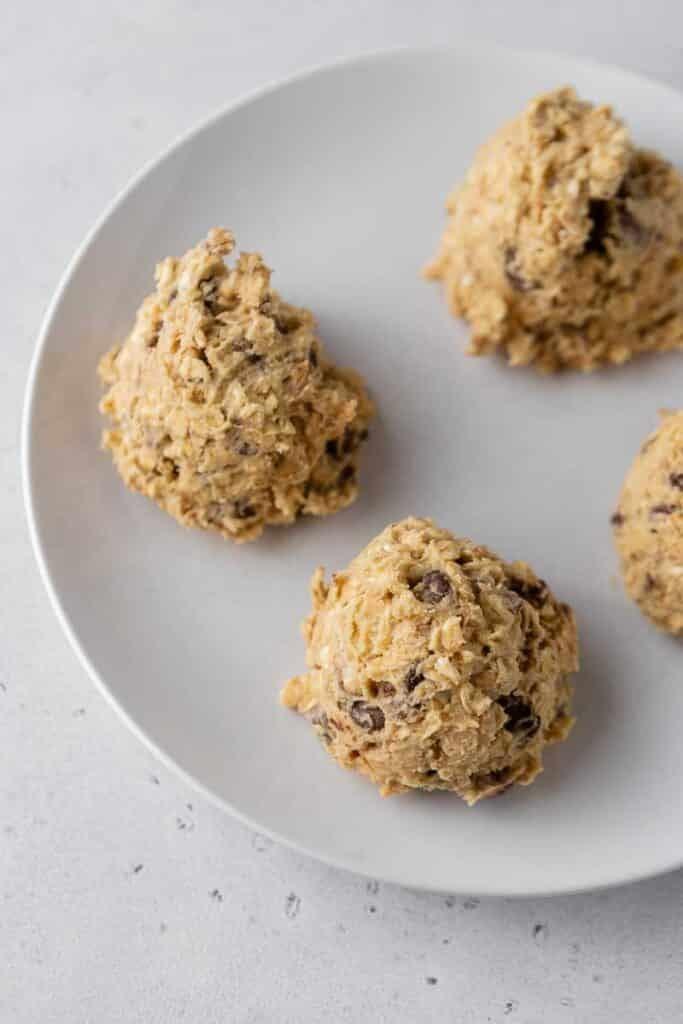 oatmeal cookie dough balls