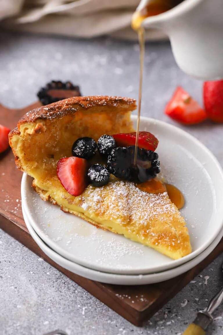 Easy Family Style Dutch Baby Pancake recipe