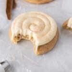 CRUMBL Snickerdoodle Cupcake Cookies