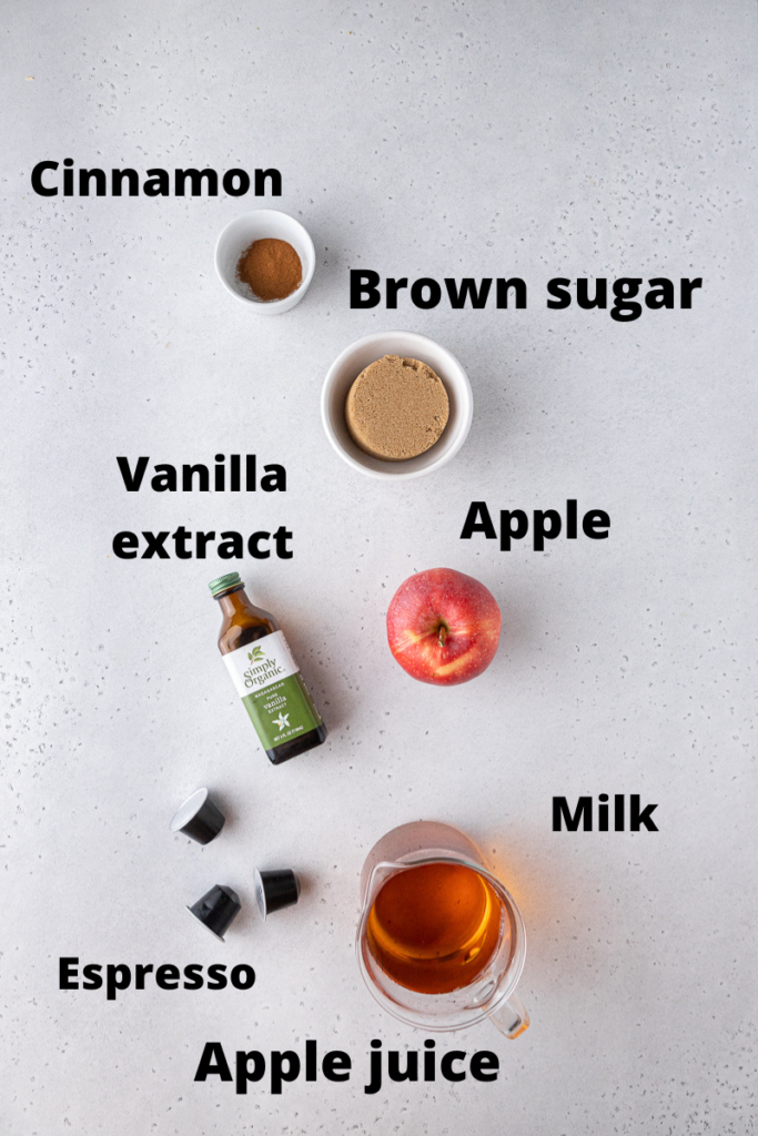 Starbucks apple crisp macchiato ingredients