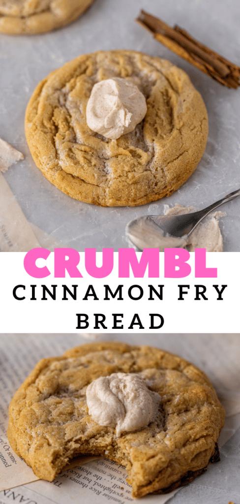 Cinnamon cookie with sweetened condensed milk