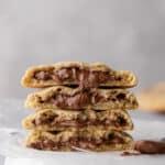 Crumbl Hazelnut Churro Cookies