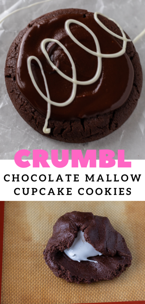 MArshmallow brownie cookie