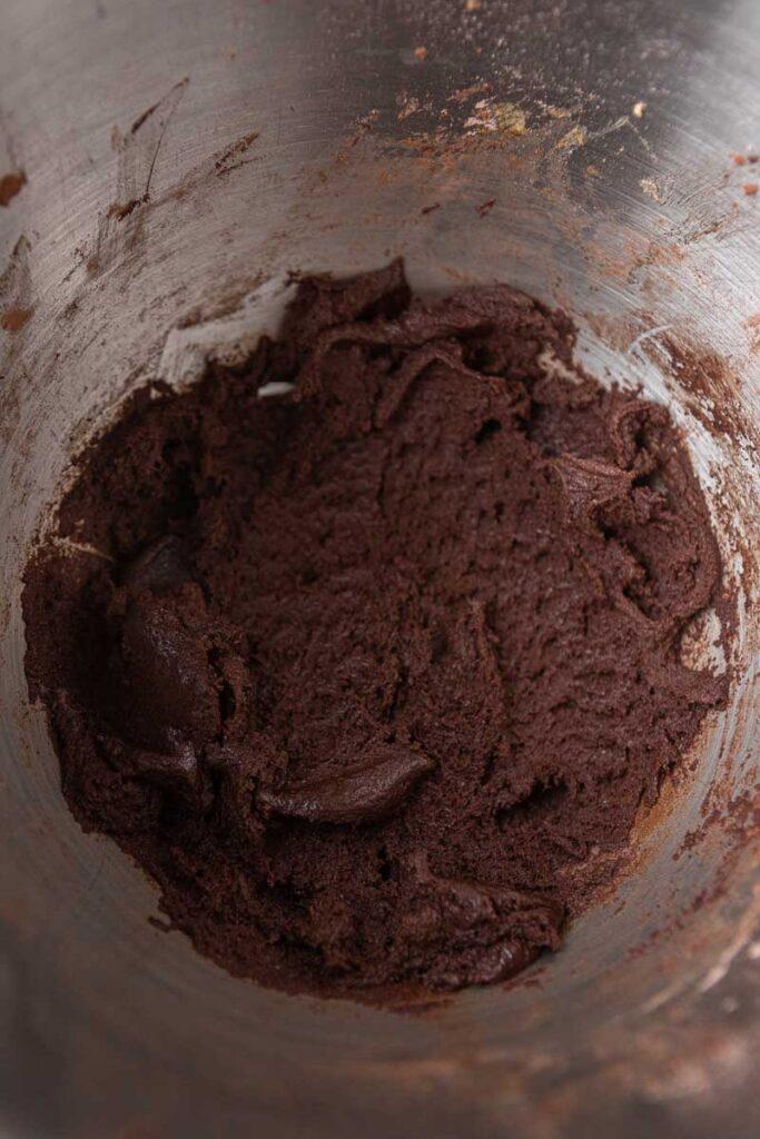 Chocolate cookie dough balls