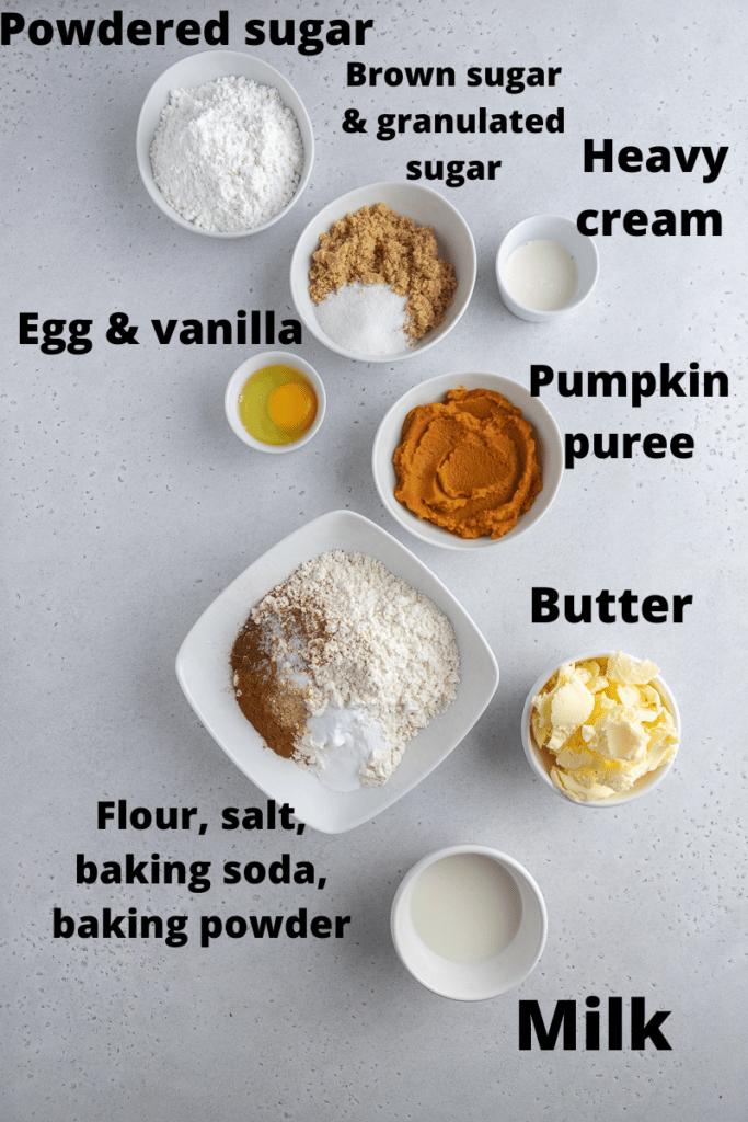 Starbucks pumpkin scones ingredients