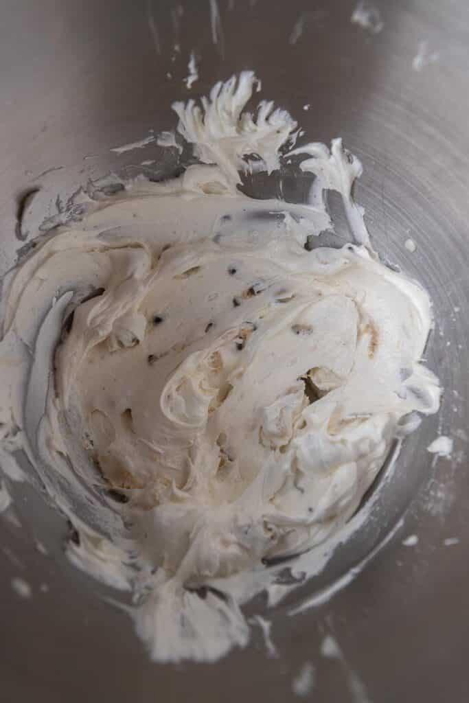 cookie dough ice cream buttercream