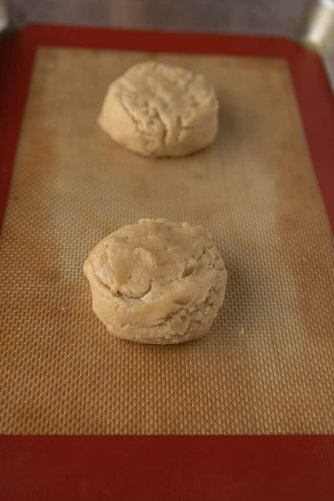 Brown sugar cookie dough