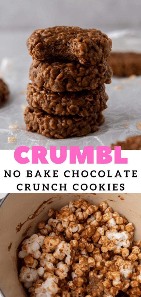 Crumbl chocolate crunch cookies