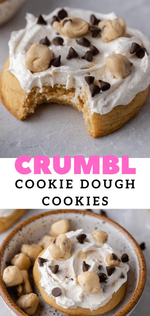 Crumbl brown sugar cookies