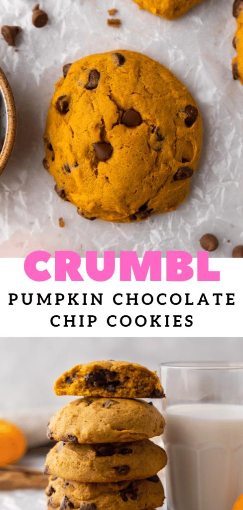 Fall muffin top cookies