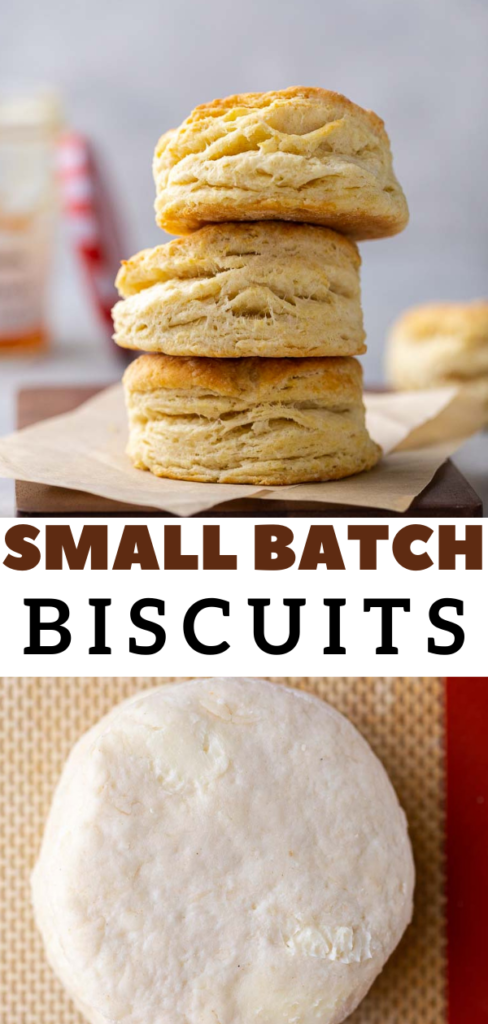 Small batch biscuits for two