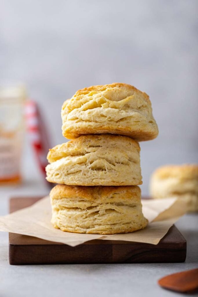 Fresh small batch biscuits for two