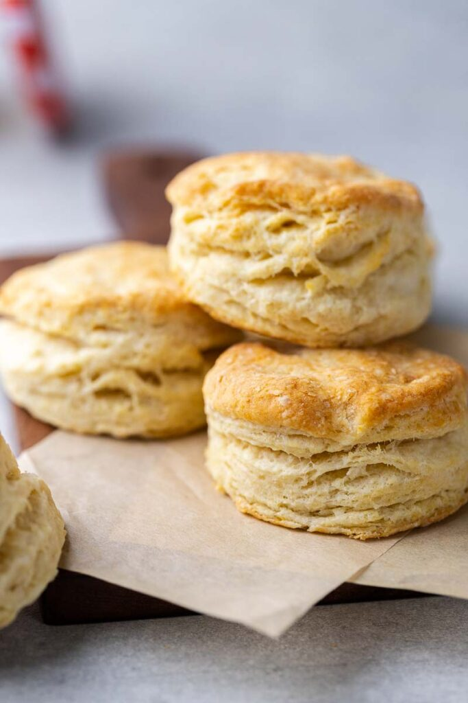 Fresh biscuits for two