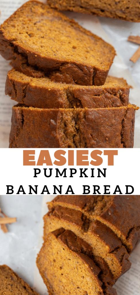 easiest spiced banana bread
