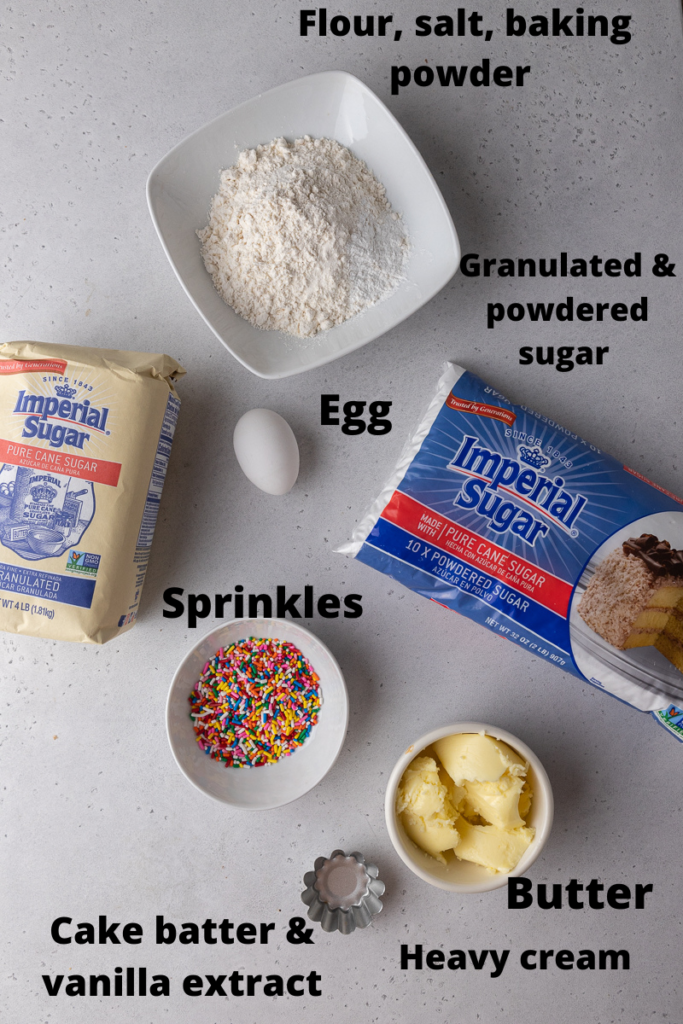 Crumbl funfetti milkshake cookie ingredients