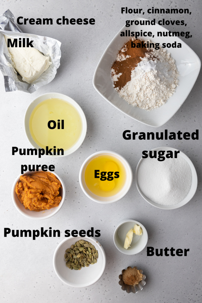 Starbucks pumpkin cream cheese ingredients