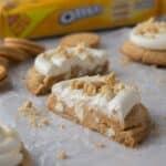 Crumbl golden Oreo cookies