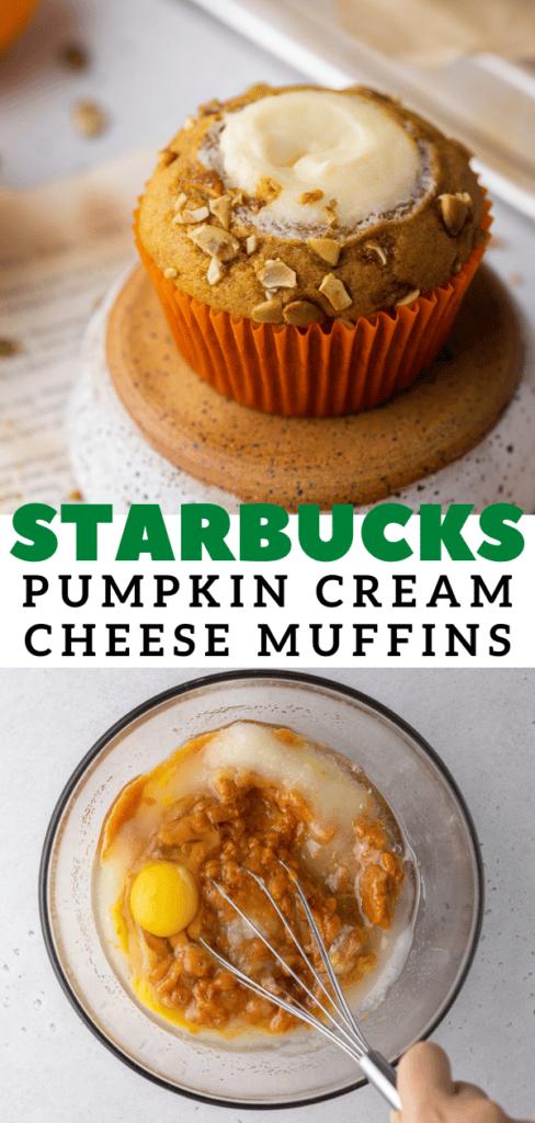 Starbucks pumpkin cream cheese muffins